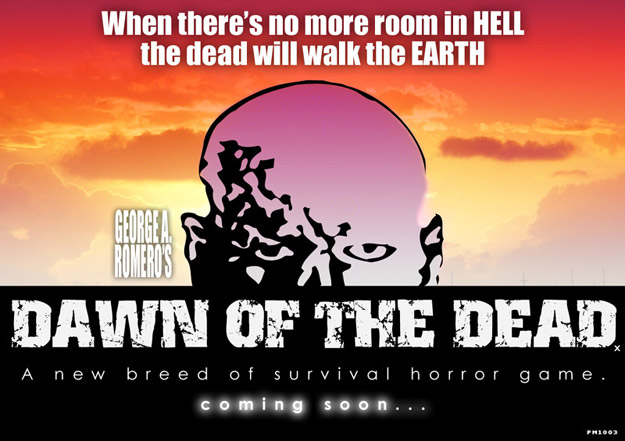 Dawn of the Dead game promo