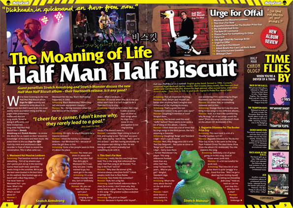 Half Man Half Biscuit Urge For Offal album review, DPS #1