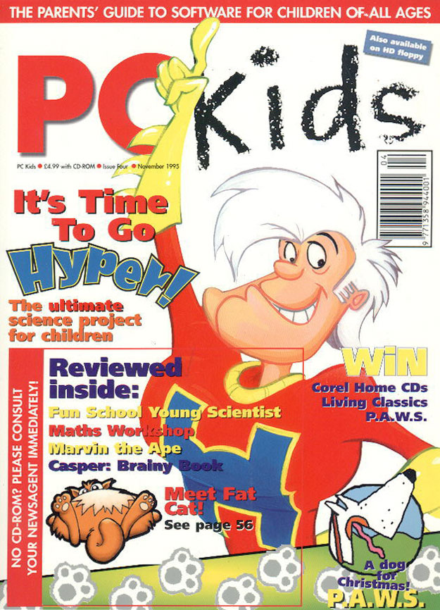 Cover of PC Kids issue four