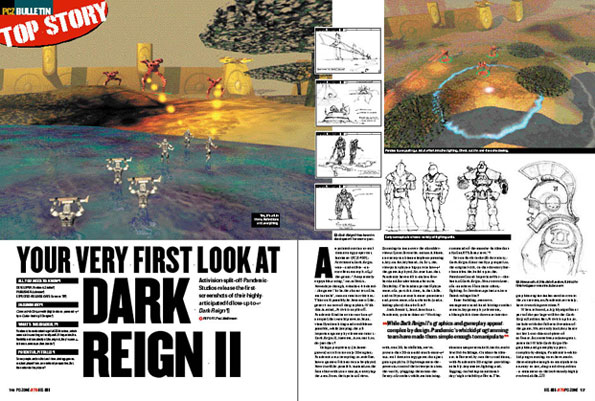 PC Zone article - Dark Reign II