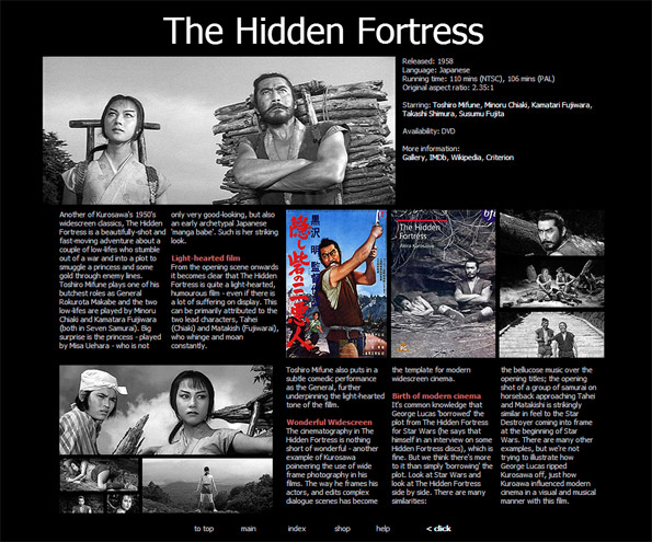 My review of Akira Kurosawa's The Hidden Fortress